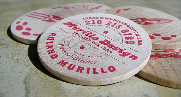 Murillo Design 30+ Creative Round Business Cards