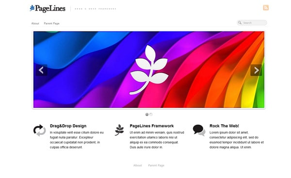 PageLines 50 Free and Premium Responsive WordPress Themes