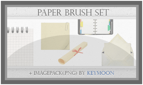 Paper Brushes Set 20 Old and Free Paper Brushes