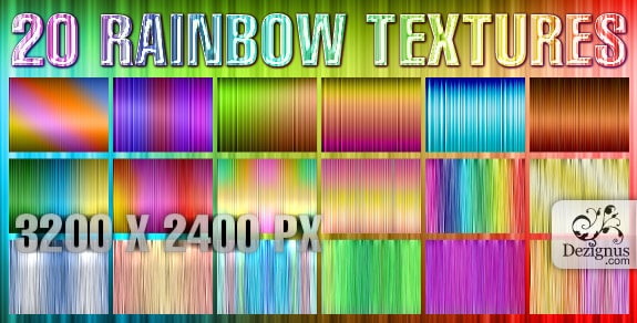 RA01 30+ Free Rainbow Backgrounds & Textures