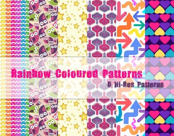 RA30 30+ Free Rainbow Backgrounds & Textures