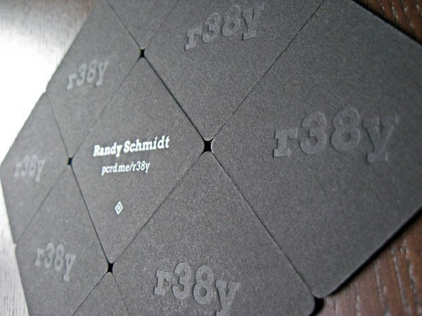 Randy Schmidt 50+ Brilliant Square Business Cards