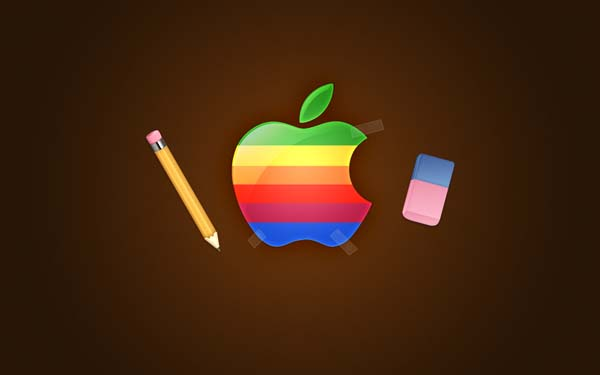 Retro Awesome Apple Wallpapers