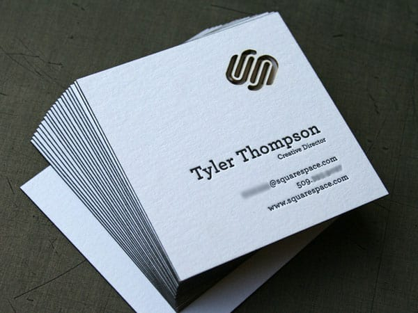 Squarespace Business Cards 50+ Brilliant Square Business Cards