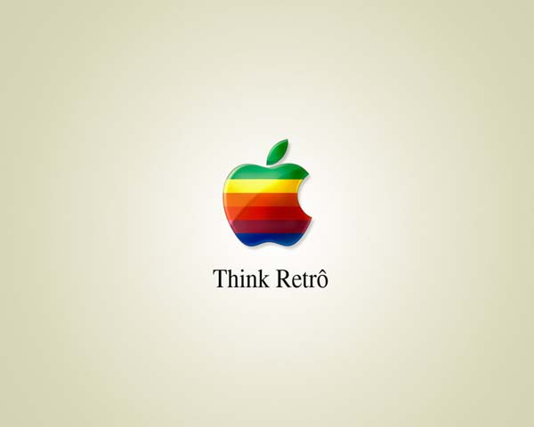 Think Retro Awesome Apple Wallpapers