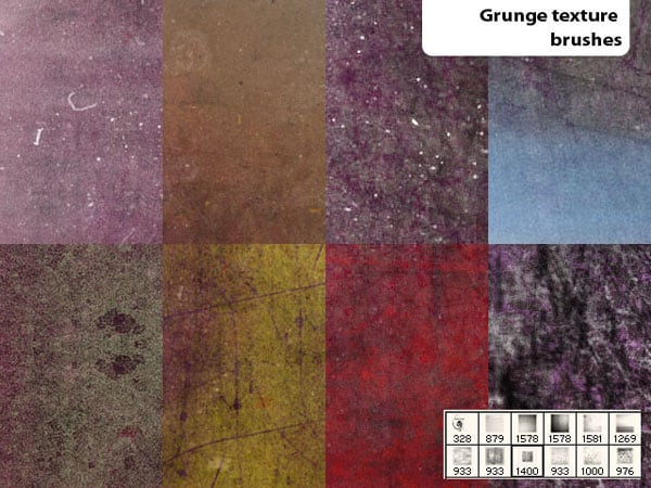 V04 10 Amazingly Free Sets Of Vintage Grunge Brushes