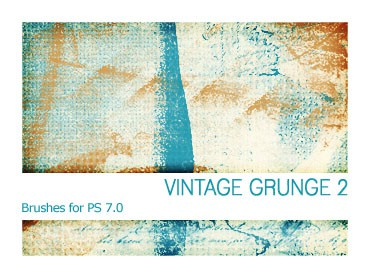V08 10 Amazingly Free Sets Of Vintage Grunge Brushes