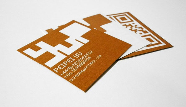 Visual Business Cards 50+ Brilliant Square Business Cards