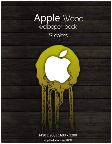 Wood  Awesome Apple Wallpapers