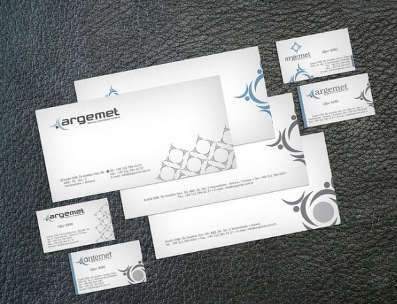 argementminimalbusinesscards 25 Impressive and Simple Business Card Designs