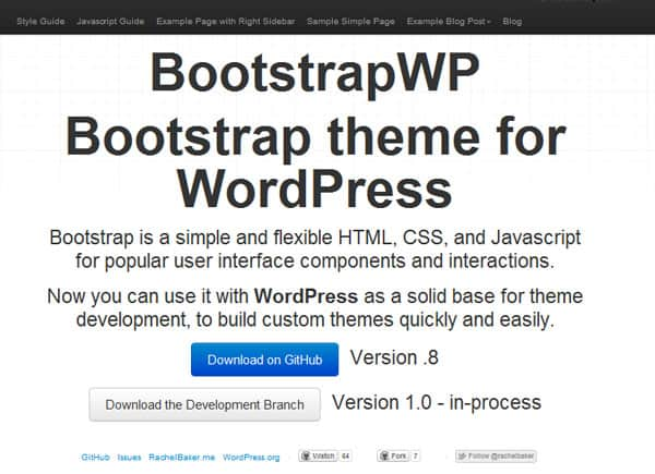 bootstrapwp 50 Free and Premium Responsive WordPress Themes