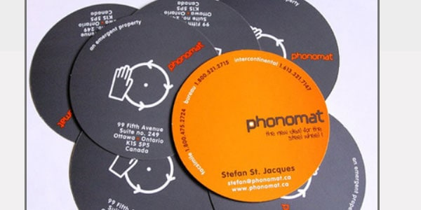 cd type dj business card 50+ Dj Music Business Cards & Designs
