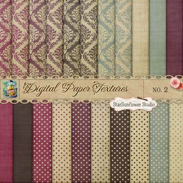 colored dots paper 20 Cool Damask Textures and Patterns Collections