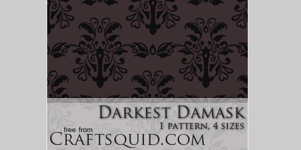 darkest 20 Cool Damask Textures and Patterns Collections