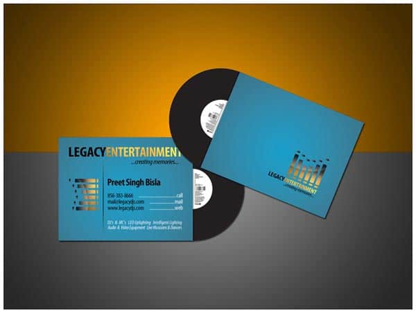 dj business cards 50+ Dj Music Business Cards & Designs