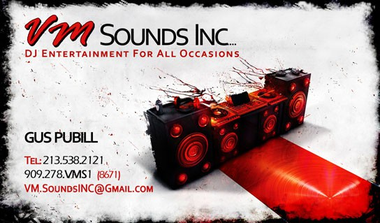 dj visiting card 50+ Dj Music Business Cards & Designs