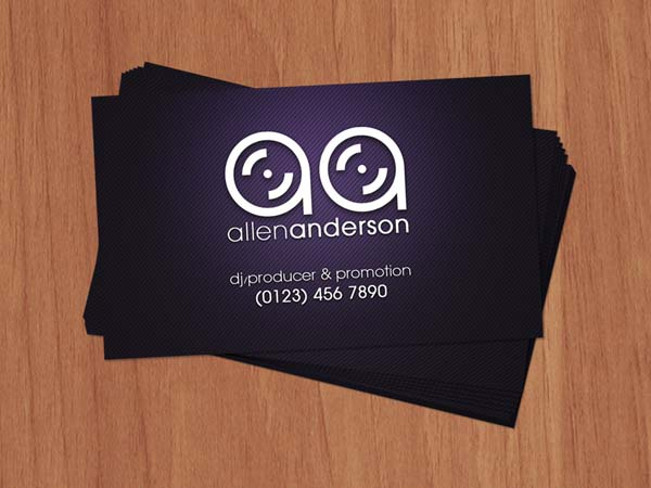 djs business cards 50+ Dj Music Business Cards & Designs