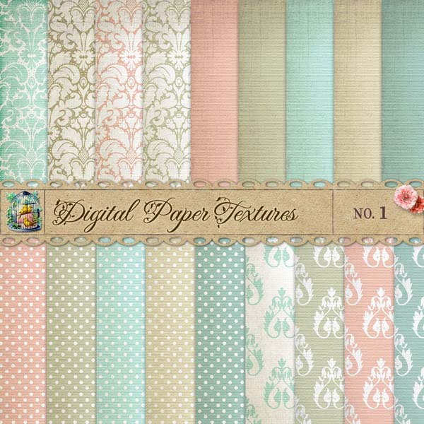 dots paper 20 Cool Damask Textures and Patterns Collections
