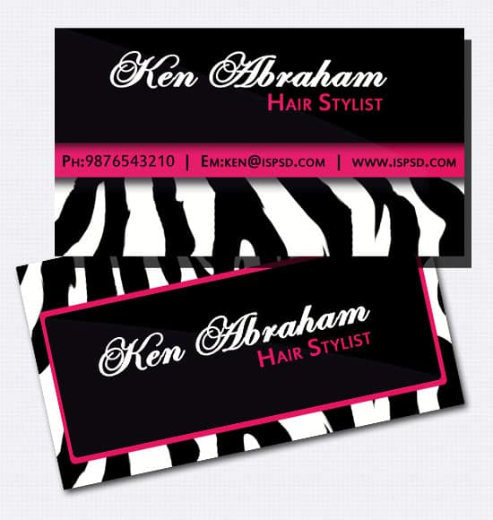 Free business card template hair stylist image collections card 50 free darkish black business card templates chess academy reheart image collections cheaphphosting
