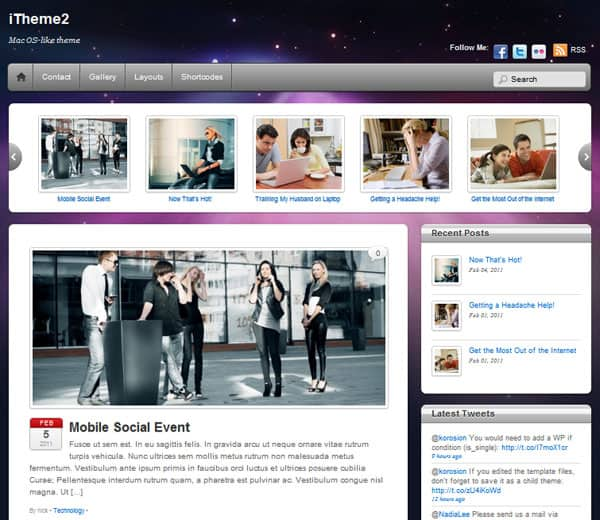 itheme2 50 Free and Premium Responsive WordPress Themes