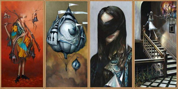 oil paintings by Esao Andrews