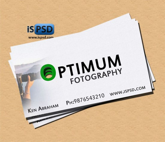 optimum PSD Freebies : A collection of 40+ White Colored Business Cards