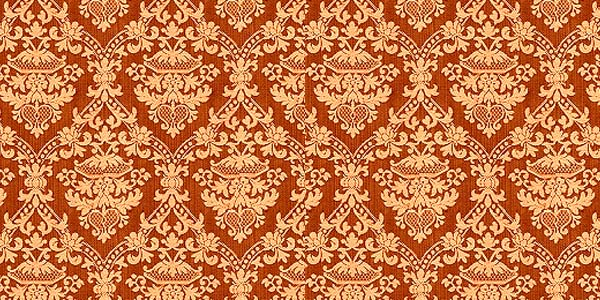 orange1 20 Cool Damask Textures and Patterns Collections