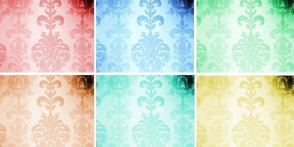 ornate 20 Cool Damask Textures and Patterns Collections