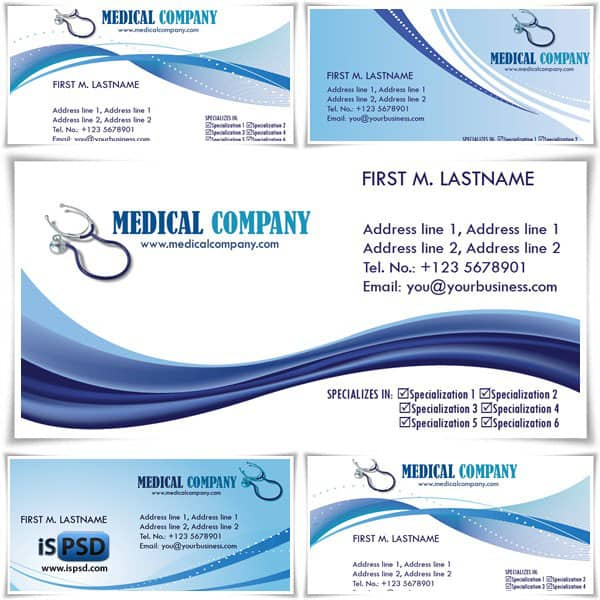 page7 PSD Freebies : A collection of 40+ White Colored Business Cards