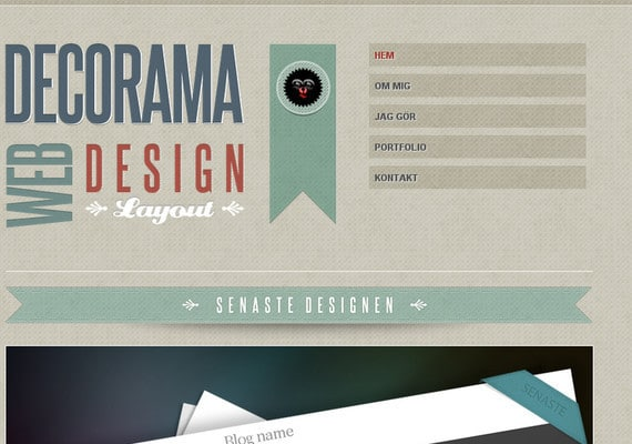 r41 40+ Creative Ribbons in Web Design