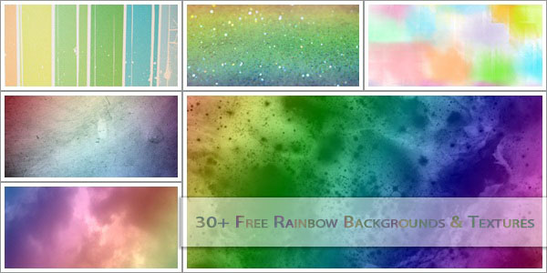 rainbow textures