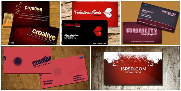 reddish_business_card