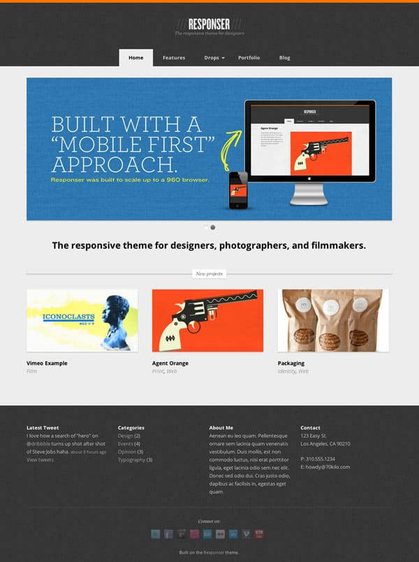 responser 50 Free and Premium Responsive WordPress Themes