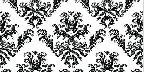 seamless pattern 20 Cool Damask Textures and Patterns Collections