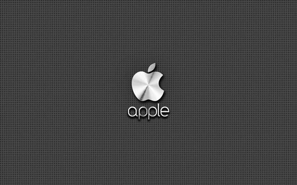 steel apple Awesome Apple Wallpapers