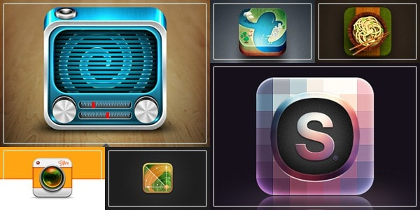 stunning app icons
