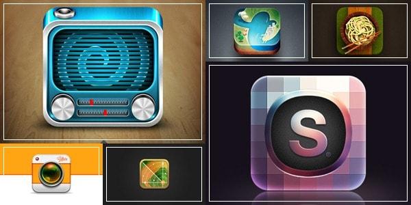 stunning app icons