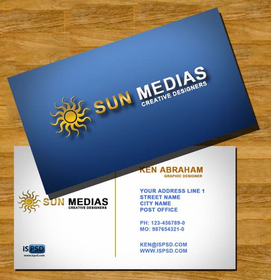 sunmedia PSD Freebies : A collection of 40+ White Colored Business Cards