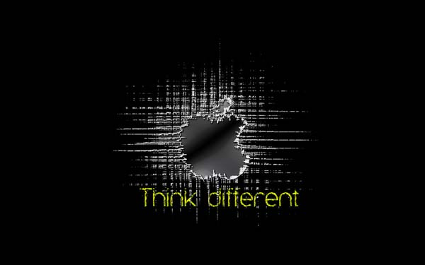 think different Awesome Apple Wallpapers