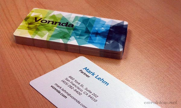 vonnda business card 20+ Impressive High quality Business cards