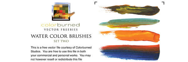 water color brushes 40 Simple Adobe Illustrator Tutorials