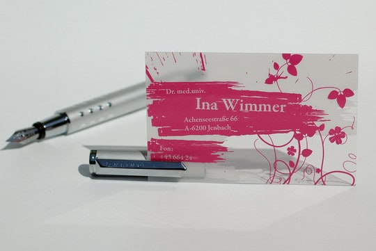 wimmer1b 60+ Cool Transparent Business Card Designs