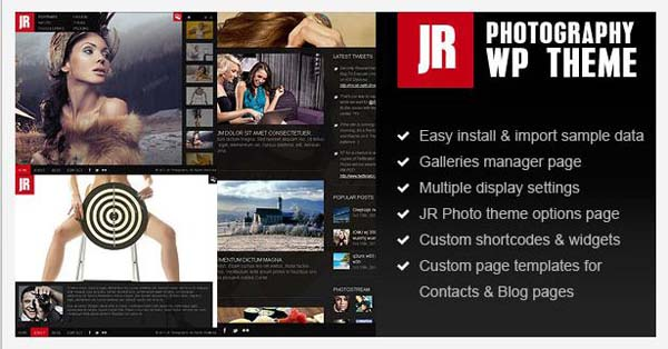 wordpress photography themes16 20+ Stunning Premium WordPress Photography Themes