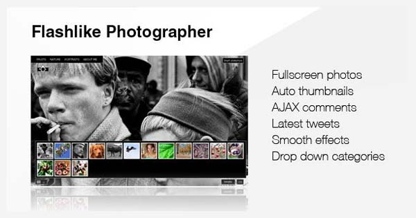 wordpress photography themes19 20+ Stunning Premium WordPress Photography Themes