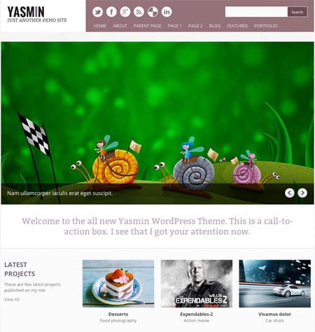 yashot 50 Free and Premium Responsive WordPress Themes
