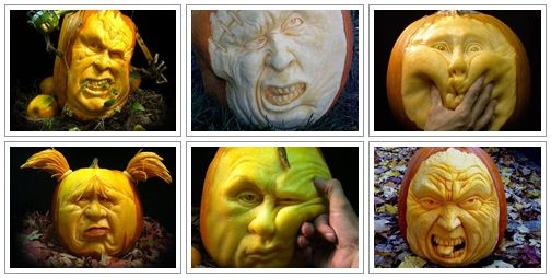 Best Pumpkin Carving Pictures