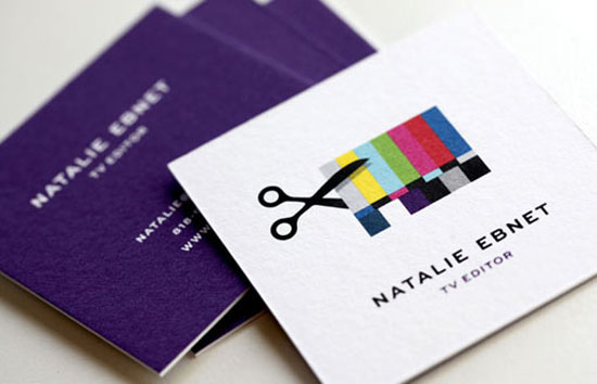 Editing Identity Design 20+ Fresh Business Cards Designs