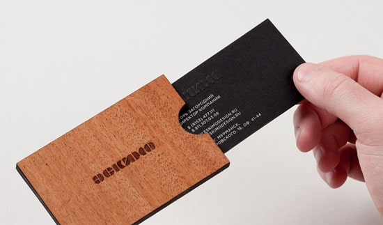 Eskimo identity 20+ Fresh Business Cards Designs