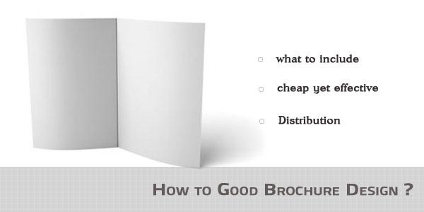 Good Brochures