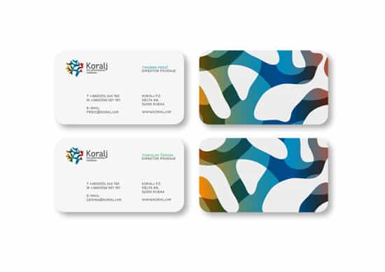 Koralj identity 20+ Fresh Business Cards Designs